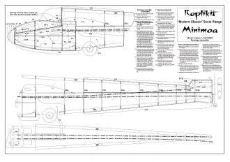 Minimoa  99in RC model airplane plan