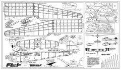 Minimoa2 model airplane plan