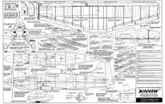 Minnow model airplane plan