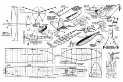 Minute Man Zaic model airplane plan