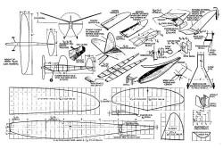 Minute Man Zaic model airplane plan