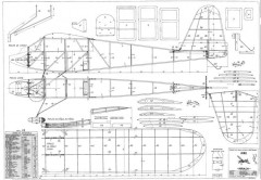 Mirach model airplane plan