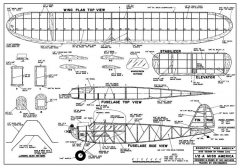 Miss Amer texaco model airplane plan