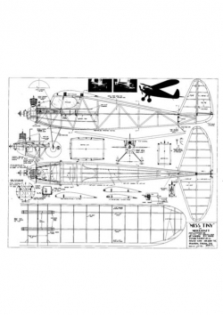 Miss Tiny model airplane plan