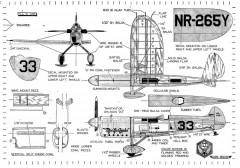MissLosAngeles model airplane plan