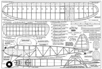 Miss America-MAN-01-61 model airplane plan