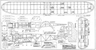 Miss America 500 model airplane plan