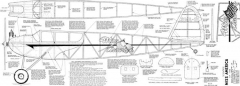 Miss America Joe Wagner model airplane plan