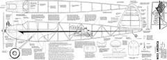 Miss America Joe Wagner model airplane plan