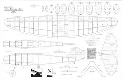 Miss Exchange Club 48in model airplane plan