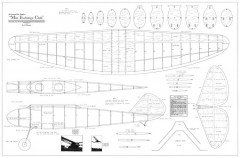 Miss Exchange Club model airplane plan
