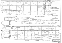 Miss Grandin-RCM-07-78 732 model airplane plan