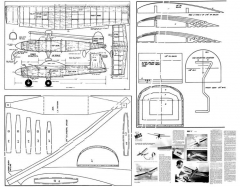 Miss L Strader model airplane plan