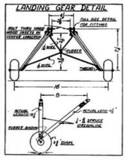 Miss Philadelphia VI p5 model airplane plan