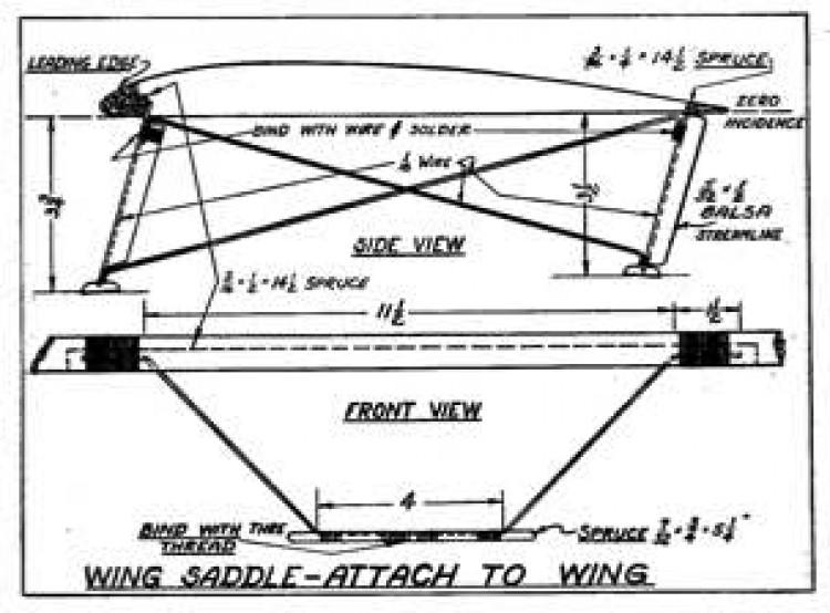 Miss Philadelphia VI p6 model airplane plan