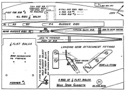 Miss Philadelphia VI p7 model airplane plan