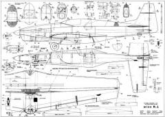 Miss RJ model airplane plan