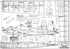 Mister E model airplane plan