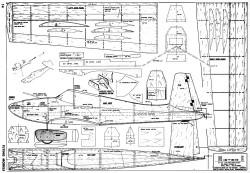 Mister E model airplane plan