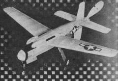 MixMaster XB-42 model airplane plan