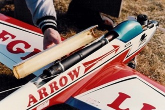 MK Arrow 60 model airplane plan