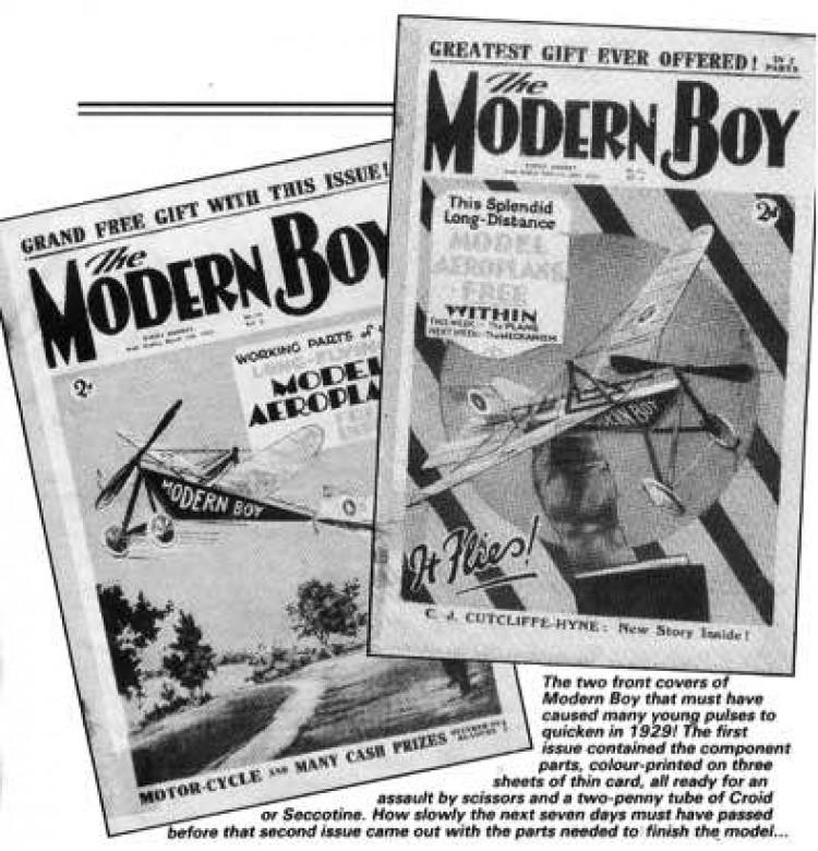 ModernBoy model airplane plan