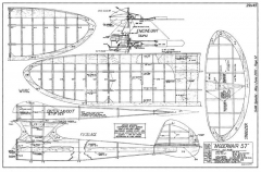 Modernaire 57 model airplane plan