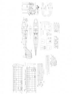 Modseamastr Model 1 model airplane plan