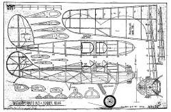Mohawk Pinto K-5 model airplane plan