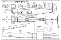 Moker F3D model airplane plan