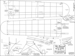 Monarch 1938 model airplane plan