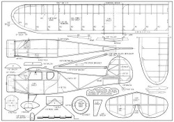 Monocoupe-FM-05-83 model airplane plan
