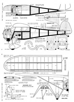 Monocoupe-MAN-10-48 model airplane plan