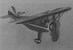 Monocoupe 110 model airplane plan