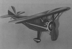 Monocoupe 110 model airplane plan