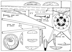 Monocoupe p1 model airplane plan