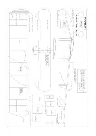 Moonbeam-II model airplane plan