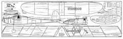 Moonco & Crossbow model airplane plan