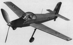 Morane Saulnier Epervier model airplane plan