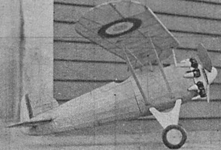 Morane Saulnier Pursuit model airplane plan