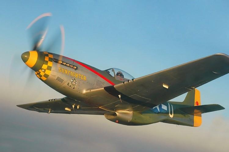 Morris Mustang model airplane plan