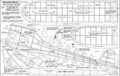 Mouse Trap 54in model airplane plan