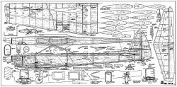 Mr. Slick model airplane plan