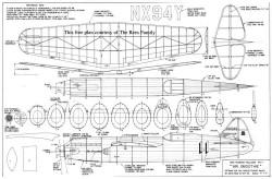 Mr Smoothie model airplane plan