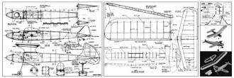 Multi-Moe model airplane plan