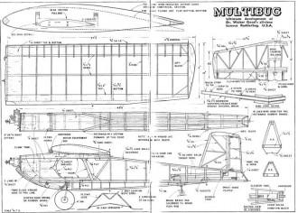 Multibug model airplane plan