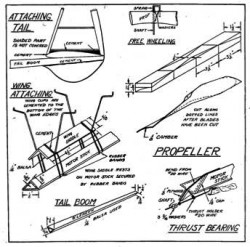 Mulvihill p3 model airplane plan