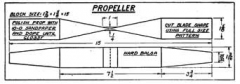Mulvihill p4 model airplane plan