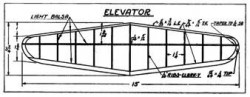 Mulvihill p5 model airplane plan