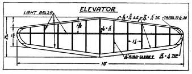 Mulvihill p5 model airplane plan